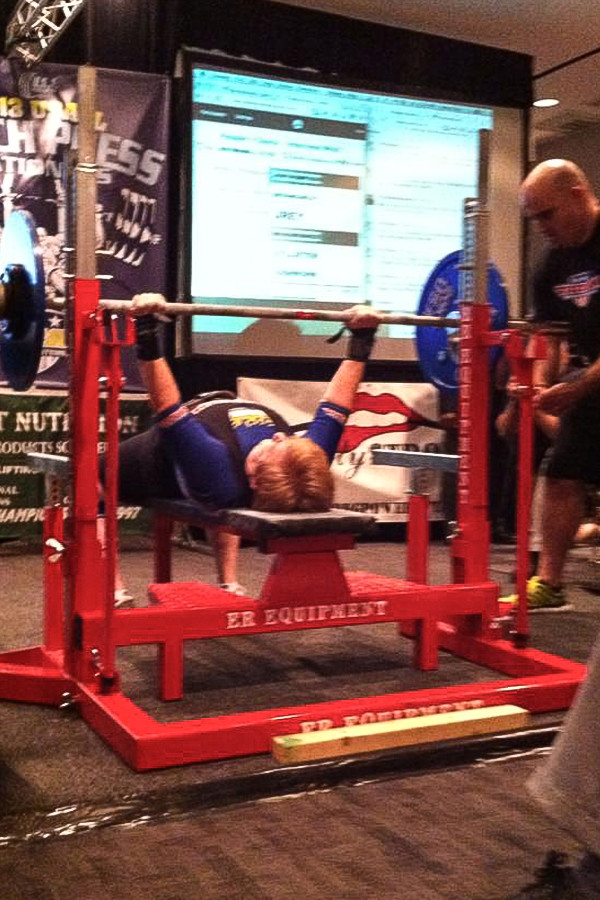 Patricia Boord Competitive Power Lifter